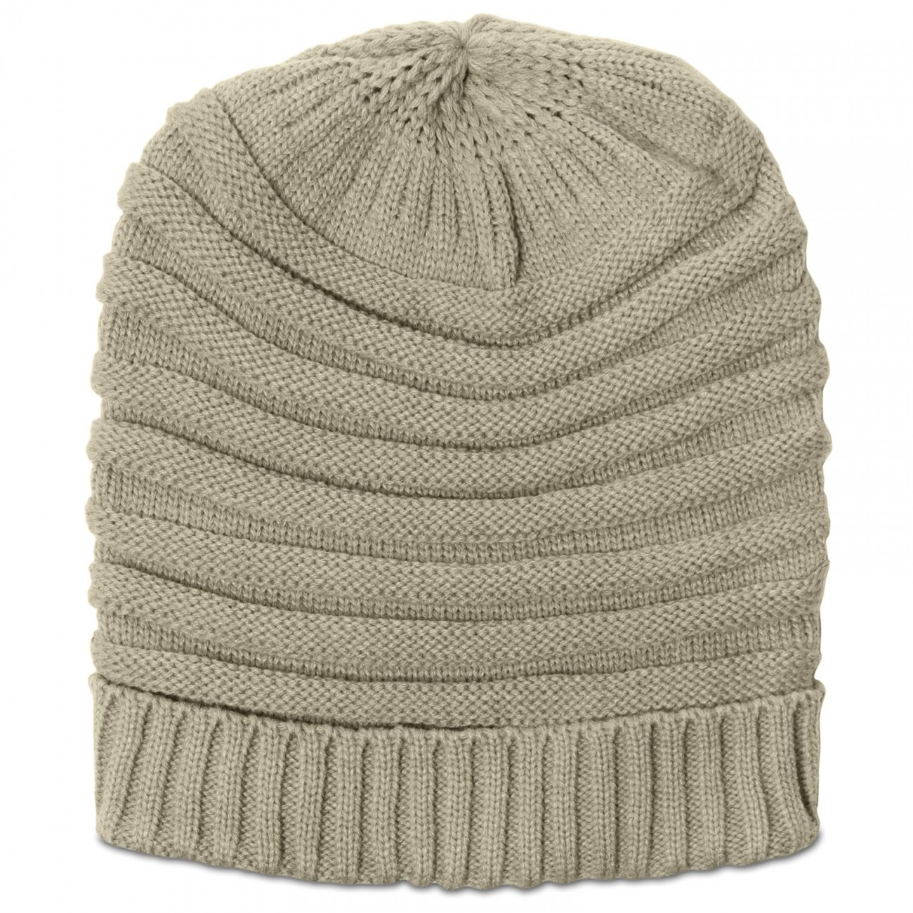 Knit Slouch Bag Pattern Free : CASPAR Womens Winter Hat Knitted Slouch Beanie Ribs ...