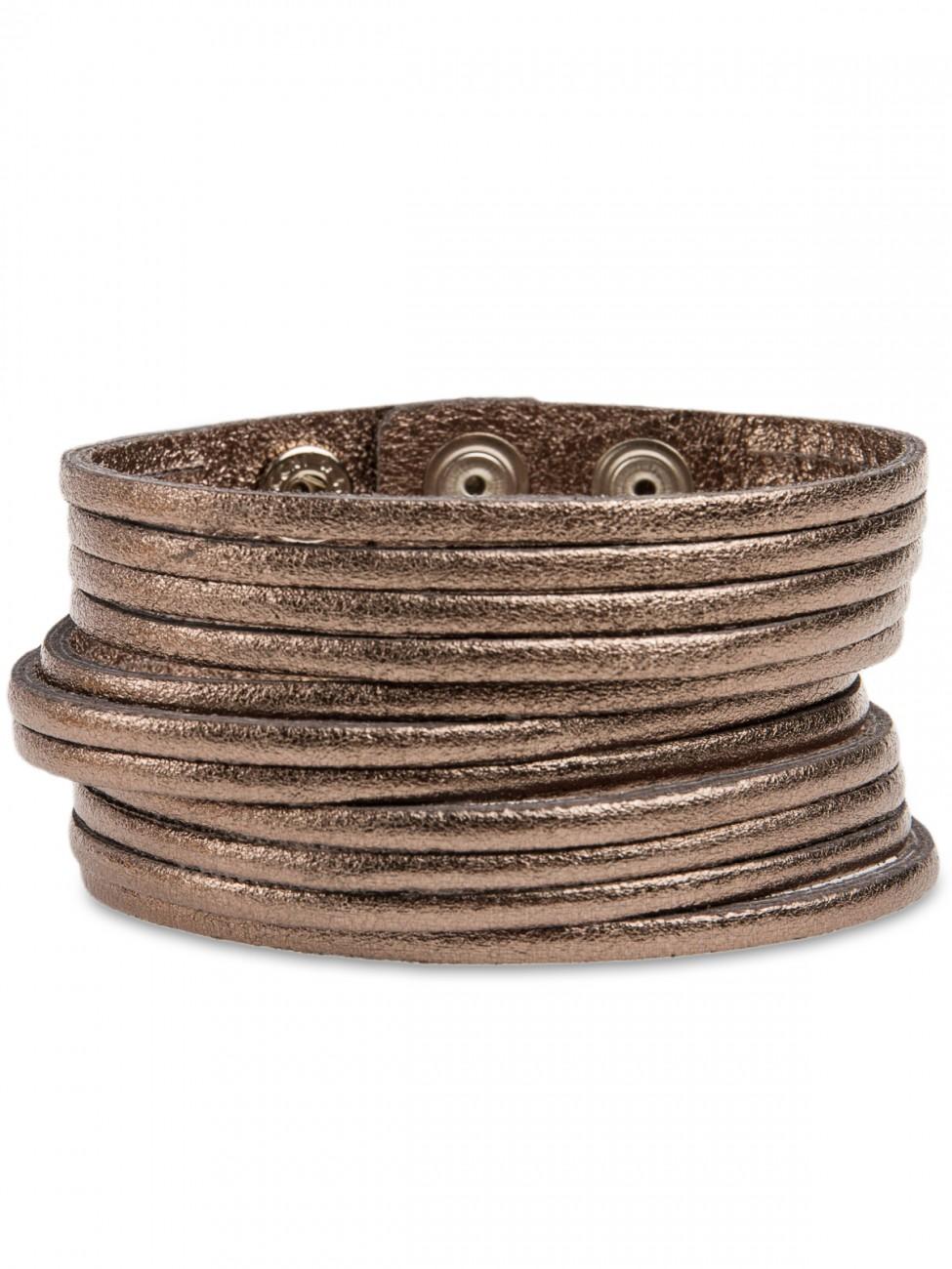caspar damen lederarmband leder armband breit schwarz braun silber gold grau ebay. Black Bedroom Furniture Sets. Home Design Ideas