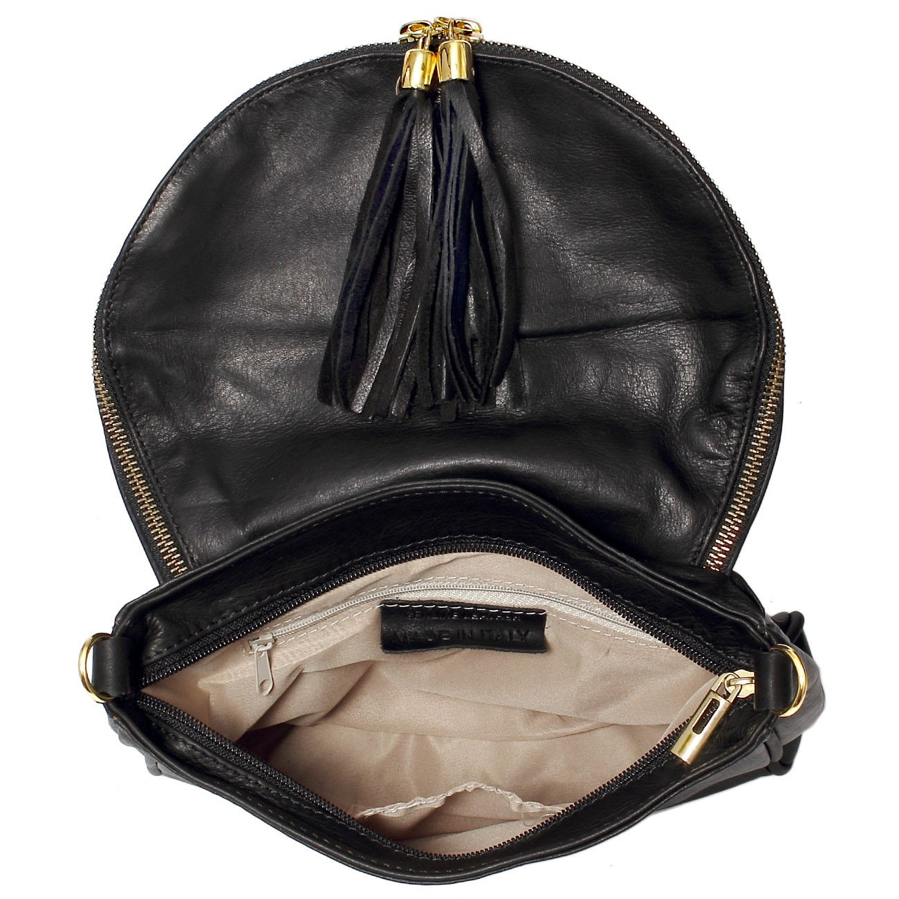 caspar damen tasche handtasche umh ngetasche leder weich. Black Bedroom Furniture Sets. Home Design Ideas