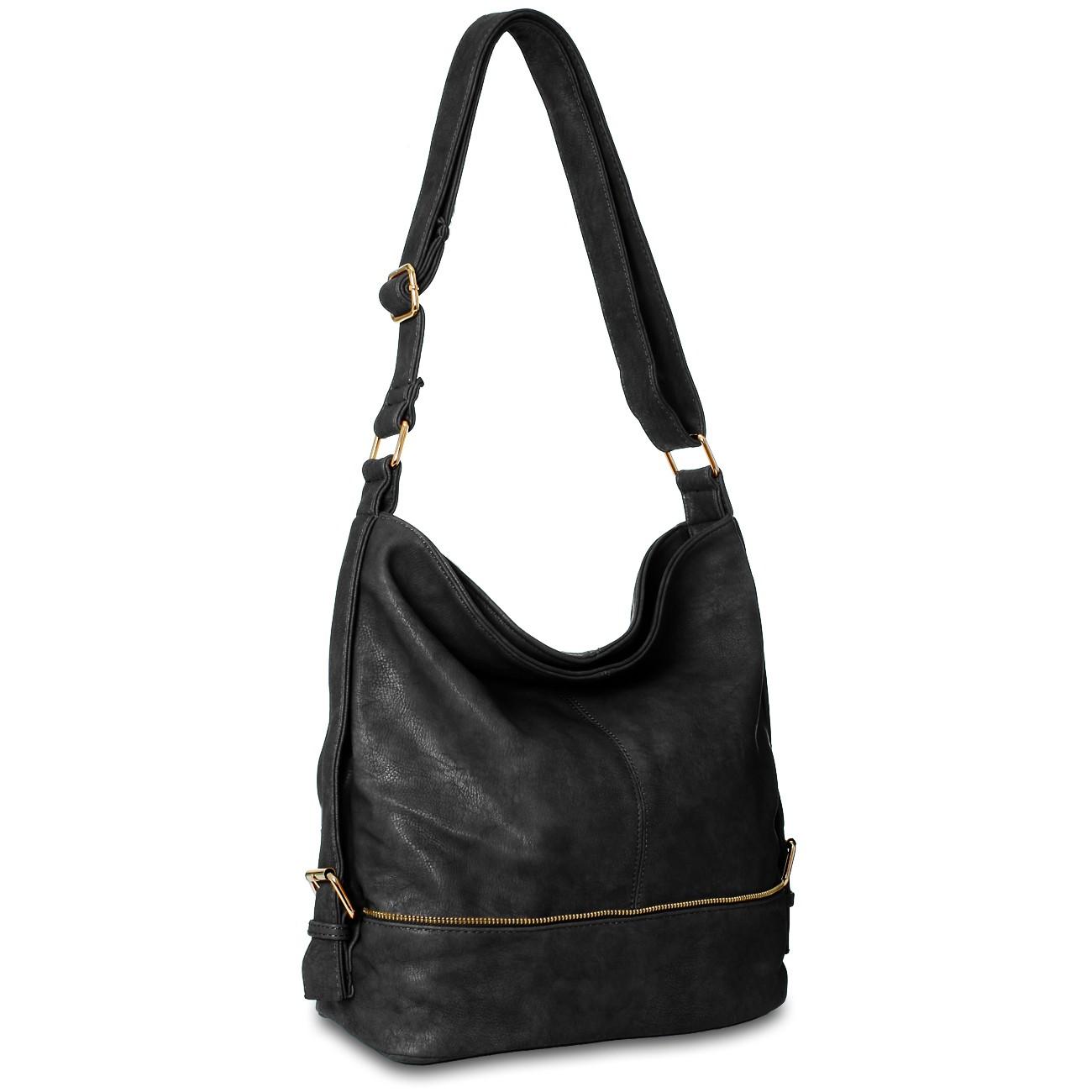 caspar damen beutel tasche handtasche messenger bag umh ngetasche langer gurt ebay. Black Bedroom Furniture Sets. Home Design Ideas