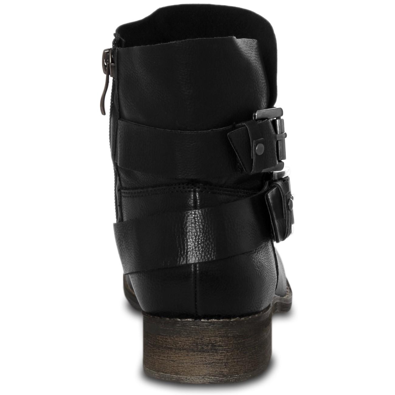 caspar damen vintage stiefeletten boots stiefel schuhe. Black Bedroom Furniture Sets. Home Design Ideas