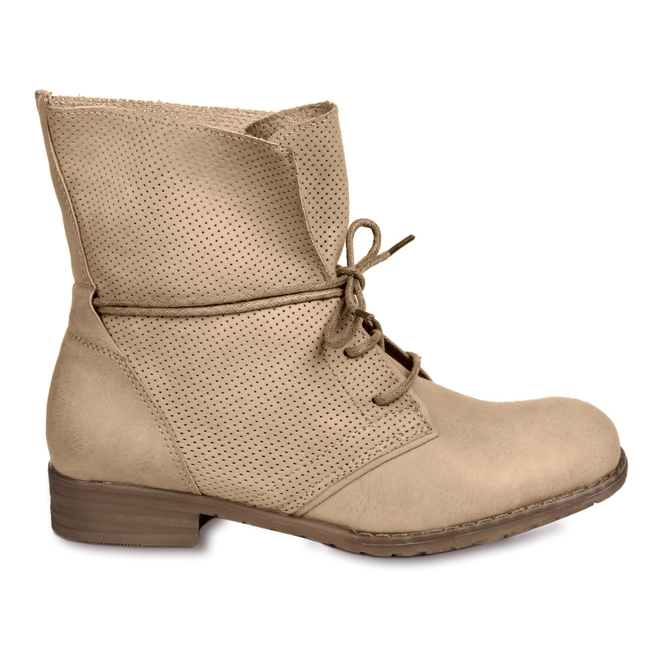 caspar damen vintage schn r stiefeletten boots stiefel. Black Bedroom Furniture Sets. Home Design Ideas