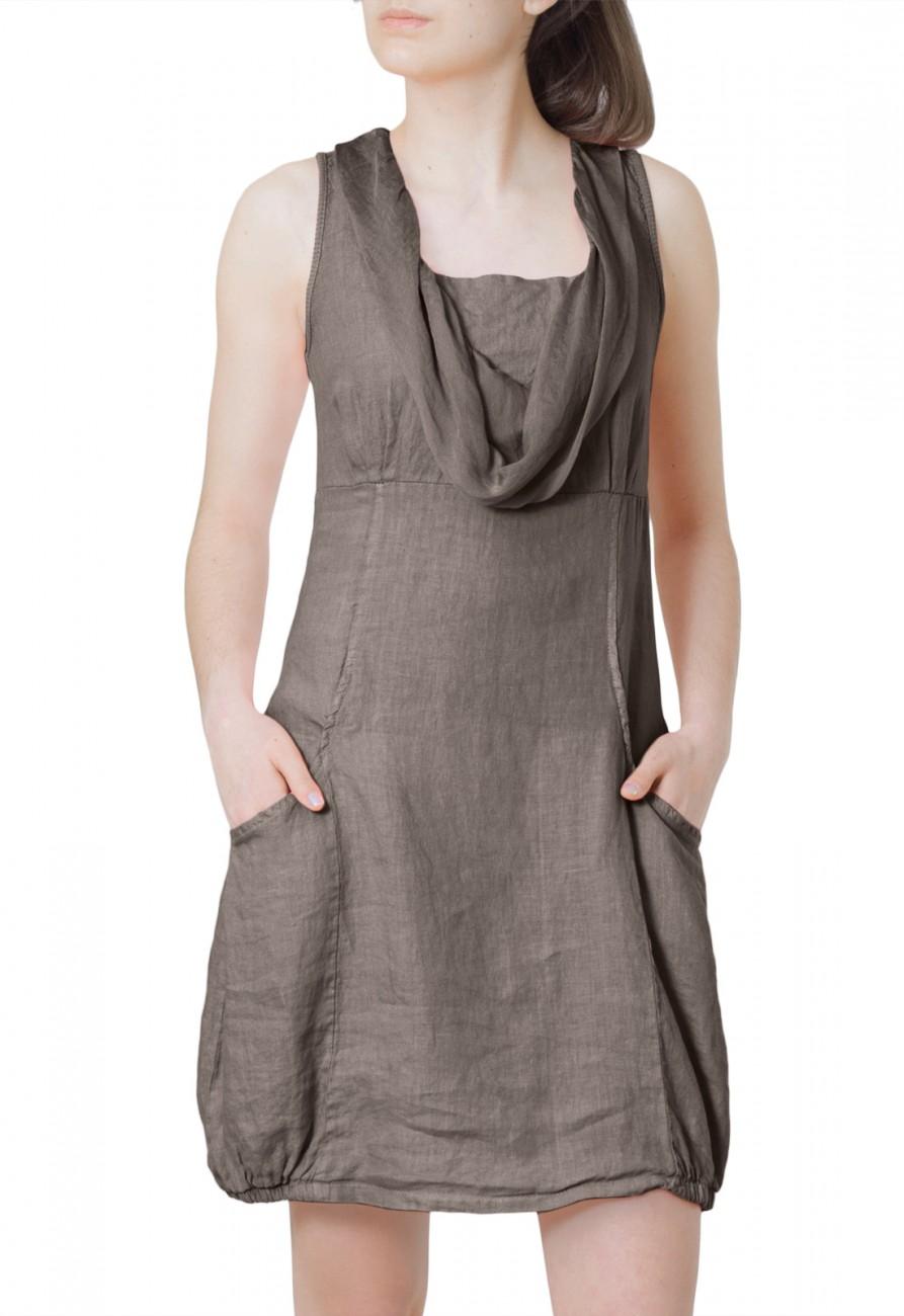 caspar damen leichtes kleid sommerkleid long top aus. Black Bedroom Furniture Sets. Home Design Ideas